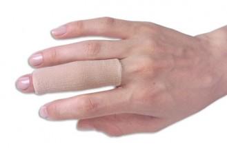 Dedeira Tubo Protetor em Gel para Dedos Anti Calo - Sem Ponta c/ Tecido