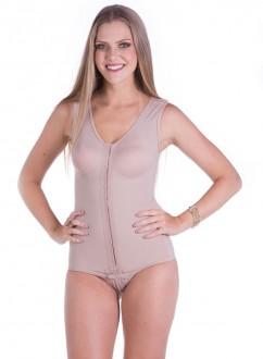 Cinta Modeladora Pós Cirúrgica sem pernas com alça larga - Model Forma